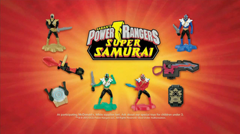 McDonald's Power Rangers Super Samurai Happy Meal TV Spot - Thumbnail 10