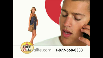 Lavalife TV Spot for Fun on the Phone - Thumbnail 6