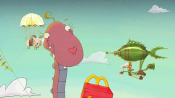 McDonald's TV Spot for Dina The Dino