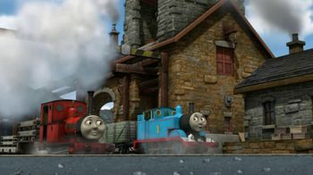 Thomas and Friends: Blue Mystery The Movie on DVD TV Spot