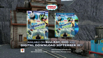 Thomas and Friends: Blue Mystery The Movie on DVD TV Spot - Thumbnail 10