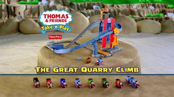 Thomas and Friends Take-n-Play Great Quarry Climb TV Spot - Thumbnail 8