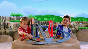 Thomas and Friends Take-n-Play Great Quarry Climb TV Spot