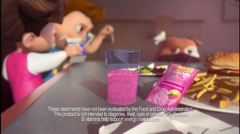 Emergen-C TV Spot, 'Keeping Up with the Kids' - Thumbnail 4