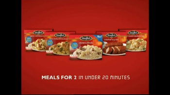 Stouffer's Chicken Alfredo TV Spot, 'Dinner and a Movie' - Thumbnail 8