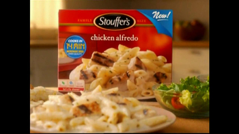 Stouffer's Chicken Alfredo TV Spot, 'Dinner and a Movie' - Thumbnail 5