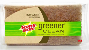 Scotch Brite Greener Clean Sponge TV Spot
