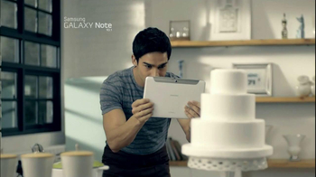 Samsung Galaxy Note 10.1 TV Spot, Song by Maroon 5 - Thumbnail 1