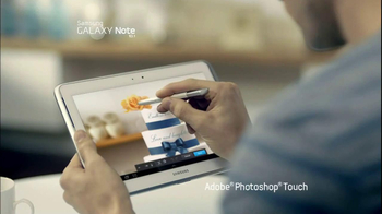 Samsung Galaxy Note 10.1 TV Spot, Song by Maroon 5 - Thumbnail 3