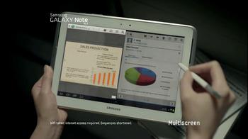 Samsung Galaxy Note 10.1 TV Spot, Song by Maroon 5 - Thumbnail 5