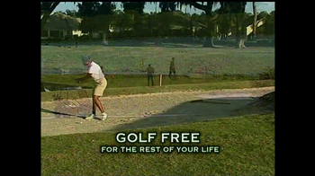 The Villages TV Spot for Golf Free For Life - Thumbnail 5