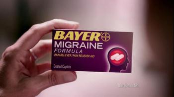 Bayer Migraine TV Spot - Thumbnail 3