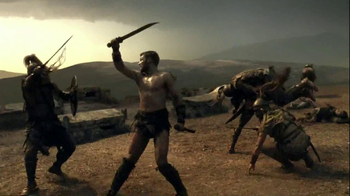 Spartacus: Vengeance on Blu-Ray and DVD TV Spot