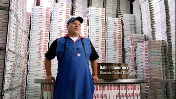 Domino's Large Two-Topping Pizza TV Spot, 'Fastest Box Folder'