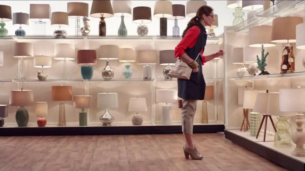 HomeGoods TV Commercial, 'Unique Lamp'