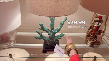 HomeGoods TV Spot, 'Unique Lamp' - Thumbnail 2