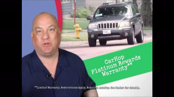 CarHop Auto Sales & Finance TV Spot, 'Platinum Rewards Program' - Thumbnail 2
