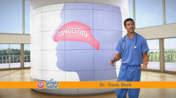 Simply Saline TV Spot, 'Get Congestion Out' Featuring Dr. Travis Stork - Thumbnail 1