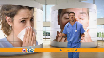 Simply Saline TV Spot, \'Get Congestion Out\' Featuring Dr. Travis Stork