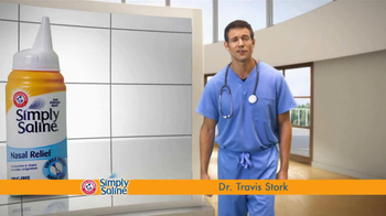 Simply Saline TV Spot, 'Get Congestion Out' Featuring Dr. Travis Stork - Thumbnail 4