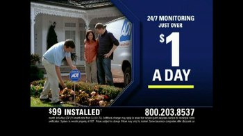 ADT TV Spot for Walking in on a Burglary - Thumbnail 8