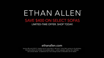 Ethan Allen TV Spot 'Custom-Design Sofas' - Thumbnail 5