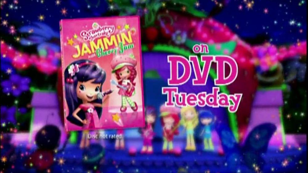 strawberry shortcake jammin with cherry jam on dvd tv spot ispot tv