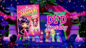 Strawberry Shortcake Jammin' with Cherry Jam on DVD TV Spot