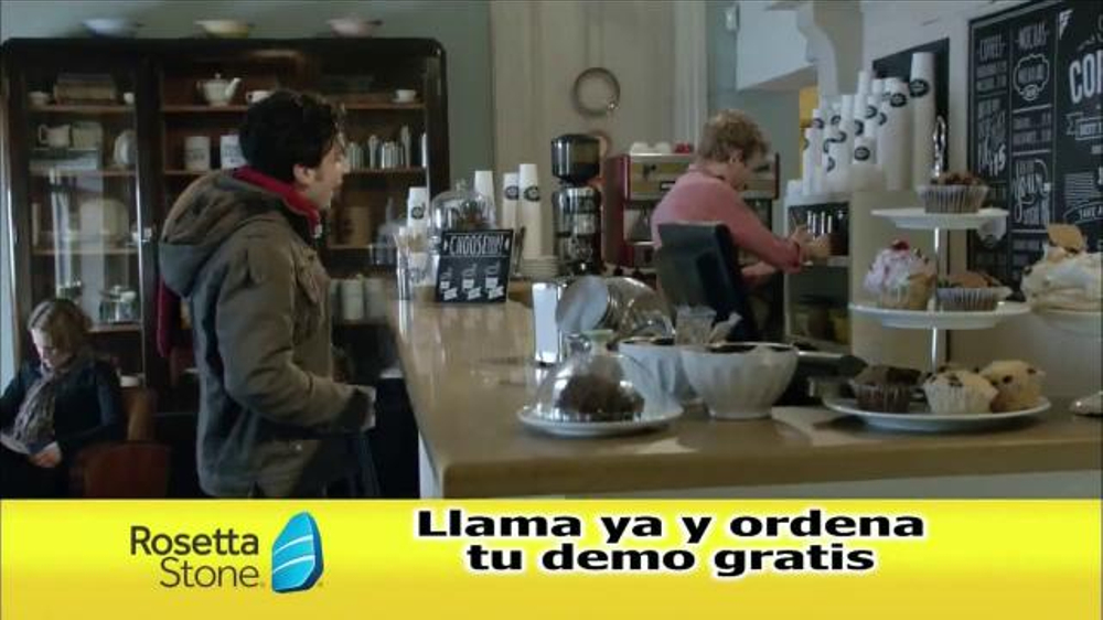 Rosetta Stone TV Commercial, 'Cafeter??a'