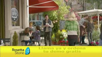 Rosetta Stone TV Spot, 'Cafetería' [Spanish] - Thumbnail 8