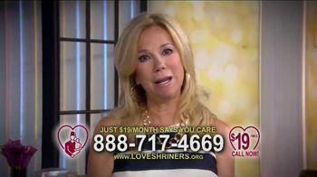 Love Shriners TV Spot, 'Sadie' Featuring Kathie Lee Gifford
