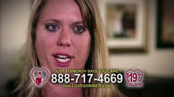 Love Shriners TV Spot, 'Sadie' Featuring Kathie Lee Gifford - Thumbnail 8