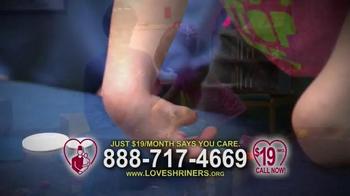 Love Shriners TV Spot, 'Sadie' Featuring Kathie Lee Gifford - Thumbnail 4