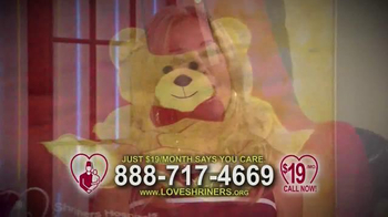 Love Shriners TV Spot, 'Sadie' Featuring Kathie Lee Gifford - Thumbnail 7