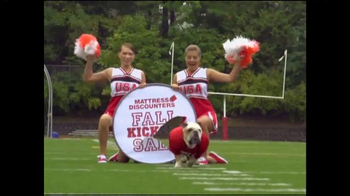 Mattress Discounters Fall Kickoff Sale TV Spot, 'Football'