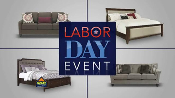 Ashley Furniture Homestore Labor Day Event TV Spot, '20% Off Storewide' - Thumbnail 1
