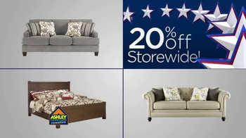 Ashley Furniture Homestore Labor Day Event TV Spot, '20% Off Storewide' - Thumbnail 3