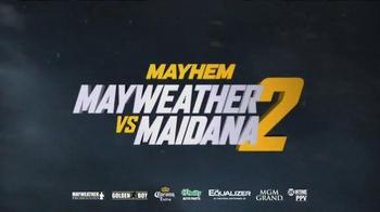 Showtime PPV TV Spot, 'Mayhem: Mayweather Vs. Maidana 2: Bring It' - Thumbnail 8