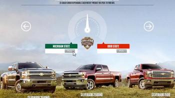 Chevrolet TV Spot, '2015 Silverado Game Day Pick' - Thumbnail 10