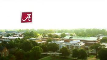 University of Alabama TV Spot, 'Rise Program' - Thumbnail 10