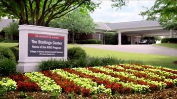 University of Alabama TV Spot, 'Rise Program' - Thumbnail 3