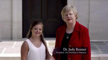 University of Alabama TV Spot, 'Rise Program' - Thumbnail 9