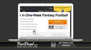 FanDuel Fantasy Football One-Week Leagues TV Spot, 'How to Play' - Thumbnail 10