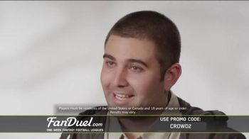 FanDuel Fantasy Football One-Week Leagues TV Spot, 'How to Play' - Thumbnail 6