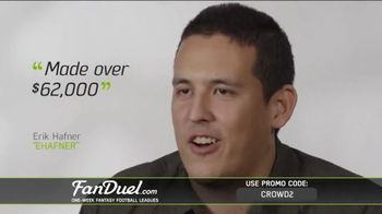 FanDuel Fantasy Football One-Week Leagues TV Spot, 'How to Play' - Thumbnail 9