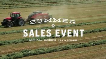 Case IH Summer Sales Event TV Spot, 'Red Hot Savings' - Thumbnail 2
