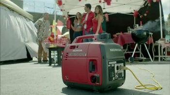 Honda EU2000 TV Spot, 'Tailgate'