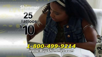 Shimmer Jewelry Tattoos TV Spot - Thumbnail 8
