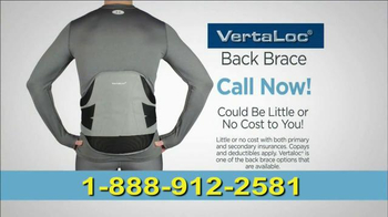 VertaLoc TV Spot, 'Suffer from Back Pain'