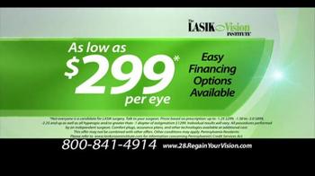 The LASIK Vision Institute TV Spot, 'Precious Moments' - Thumbnail 9